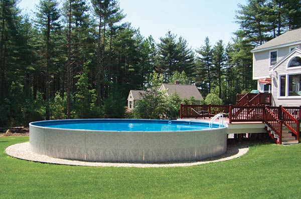 Radiant Above Ground Pool