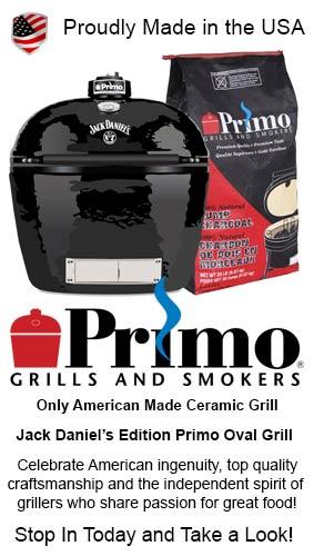 Jack Daniel's Edition Primo Oval Grill