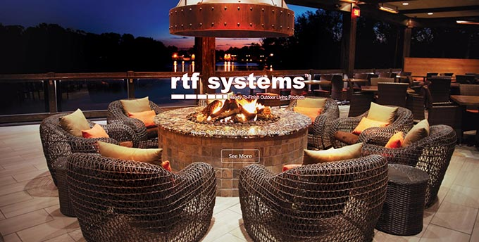 Rtf Systems Line Is Engineered To Be The Easiest Fastest And Most Efficient System For Building Custom Outdoor Kitchens Fire Features