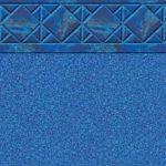 Aruba Blue Granite Vinyl Inground Pool Liner Pattern