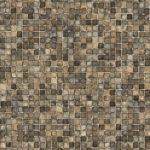 Full Tan Mosiac Vinyl Above-Ground Beaded Liner Pattern