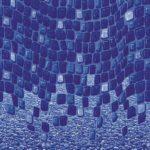 Ocean Wave Streamstone Vinyl Above-Ground Beaded Liner Pattern