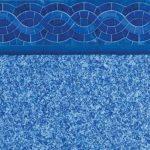 Sapphire Majestic Sky Vinyl Inground Pool Liner Pattern